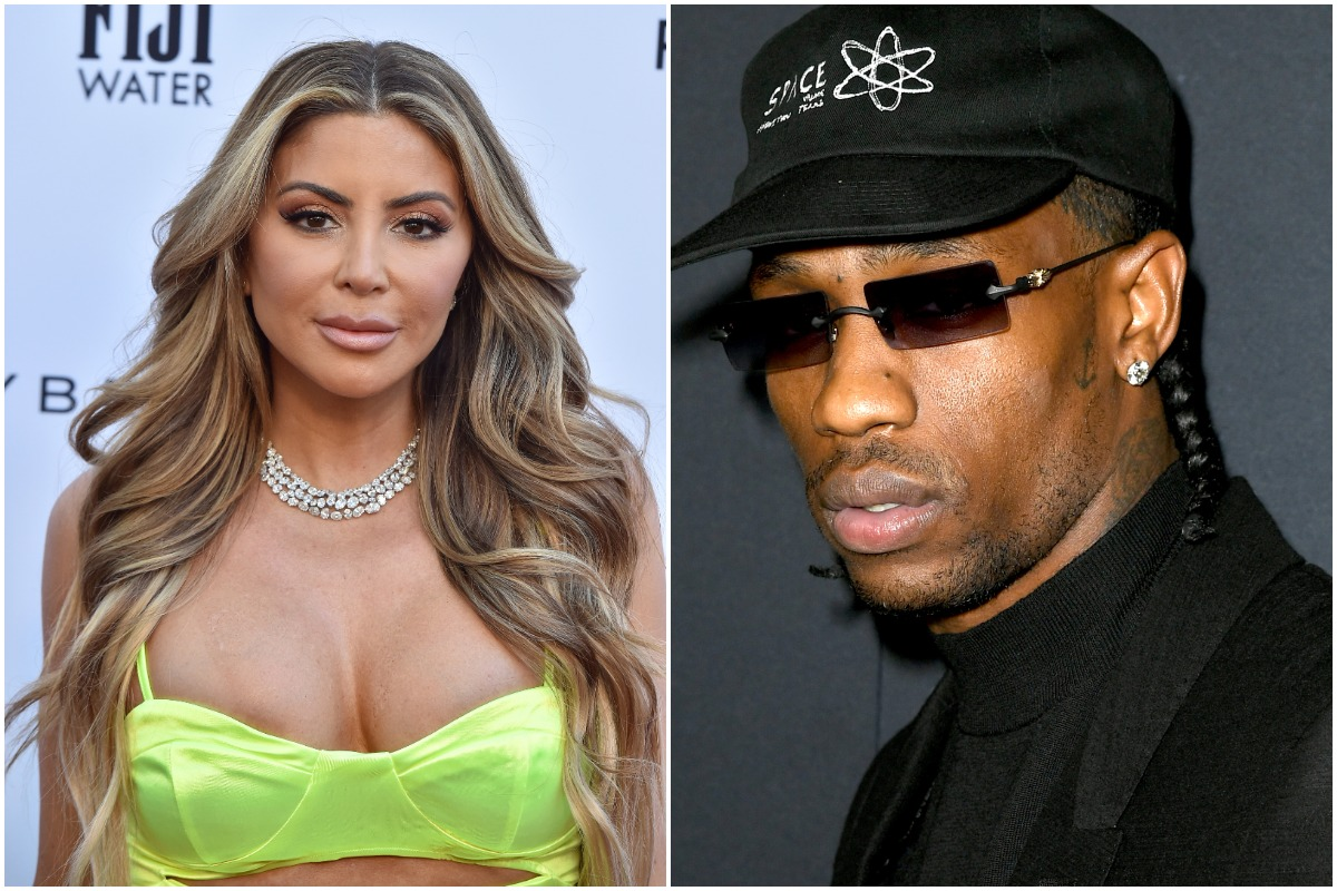 Larsa Pippen will attend the 5th Annual Los Angeles Fashion Awards at the Daily Front Row at the Beverly Hills Hotel on March 17, 2019 in Beverly Hills, California./Travis Scott reaches first view of A24's