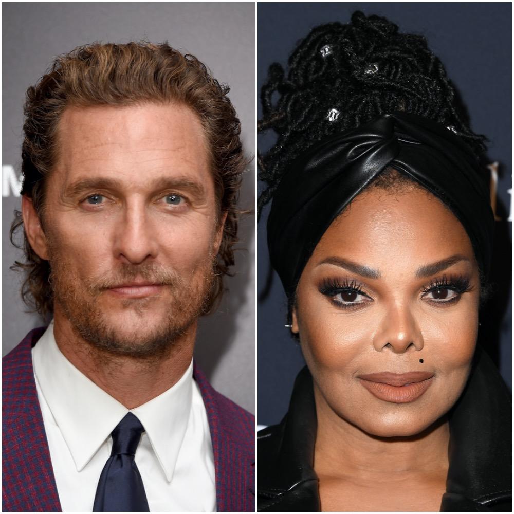 Matthew McConaughey and Janet Jackson