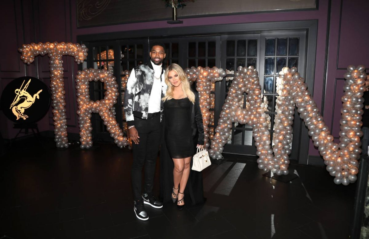 Tristan Thompson and Khloe Kardashian will stand for a photo as Remy Martin celebrates Tristan Thompson's birthday at Beauty & Essex on March 10, 2018 in Los Angeles, California.