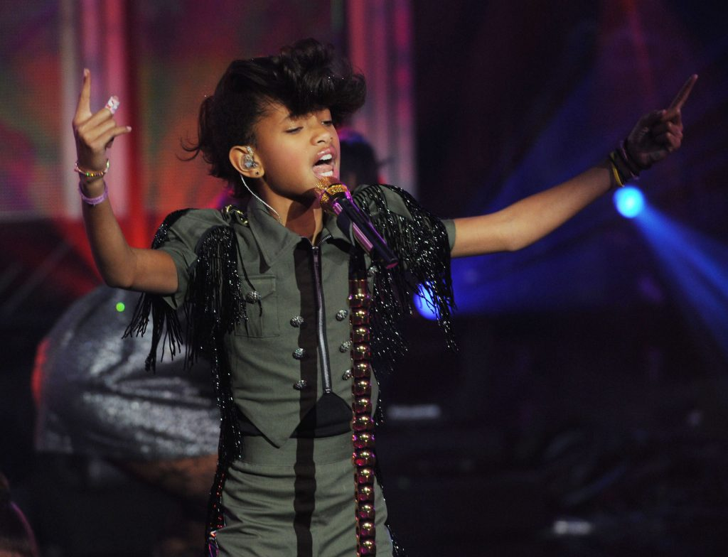 Willow Smith will perform at the Rockin 'Eve stage with Dick Clark's New Year with Ryan Seacrest in 2011