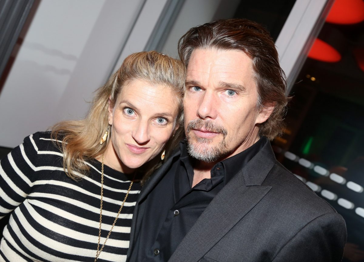 Ryan Hawke and Ethan Hawke will stand at the opening night party for the new concert 'Bob & Carol & Ted & Alice' on February 4, 2020, in New York City.