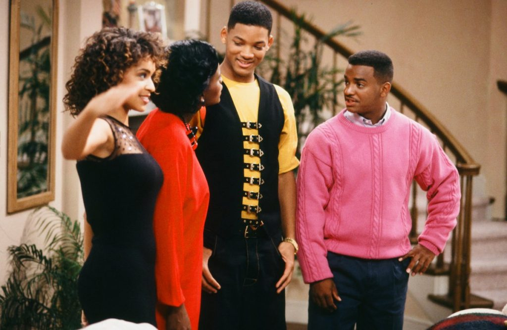 The crew of 'The Fresh Prince of Bel-Air'