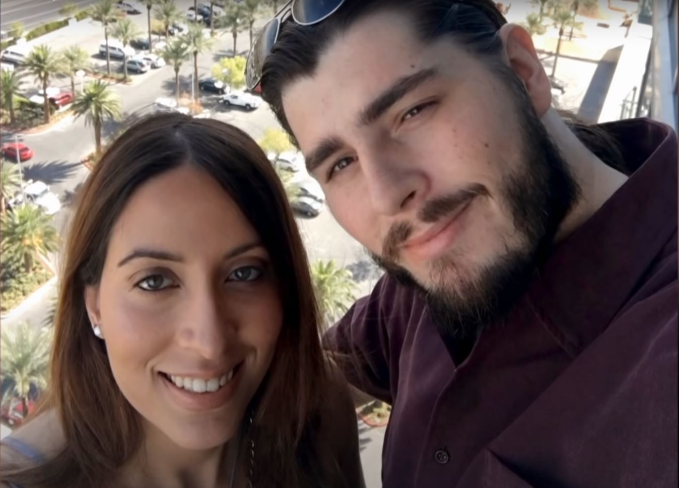 Amira and Andrew from '90 Day Fiancé '