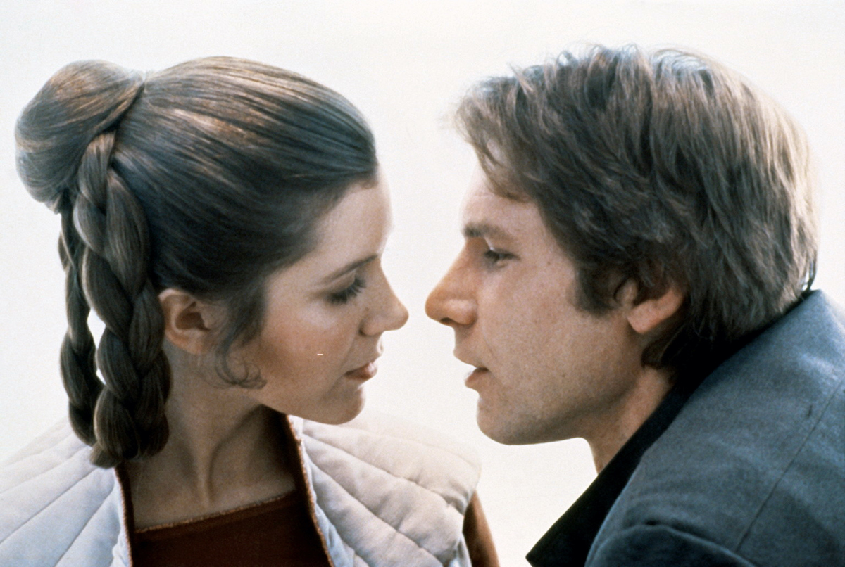 Carrie Fisher and Harrison Ford in 'Star Wars: Episode V - The Empire Strikes Back'