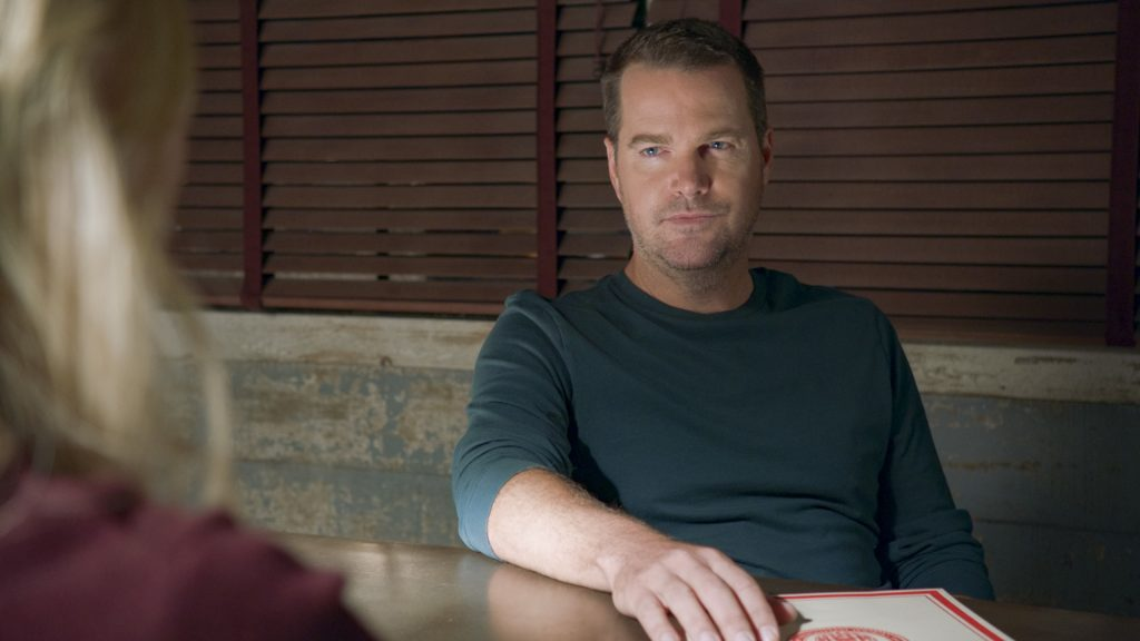 Chris O'Donnell as G. Callen on NCIS Los Angeles    CBS through Getty Images