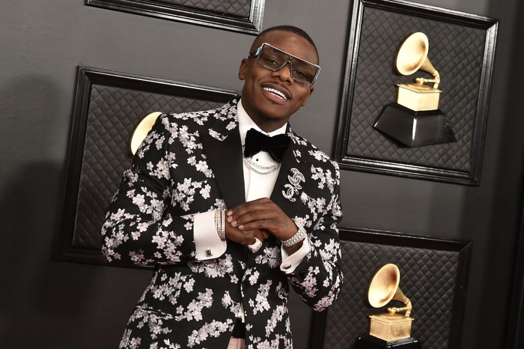 DaBaby will attend the 62nd Annual Grammy Awards at the Staples Center on January 26, 2020 in Los Angeles, CA.