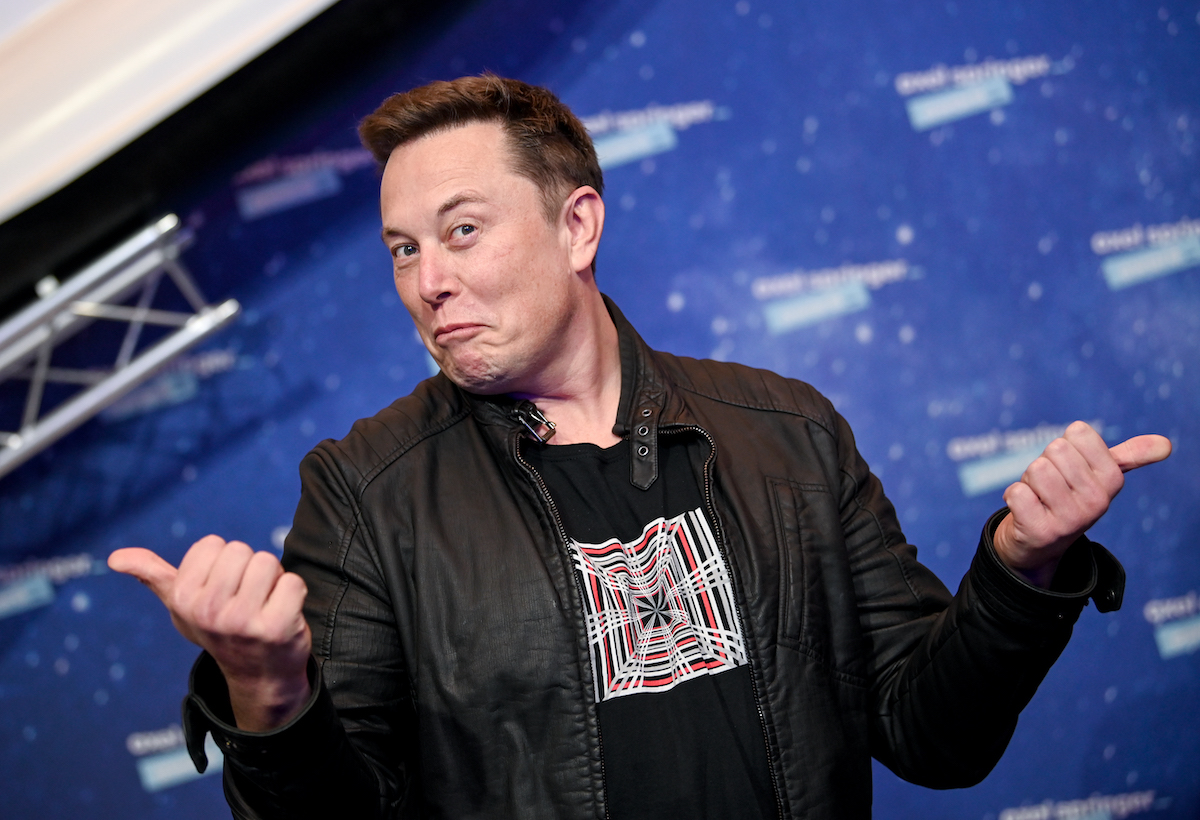 SpaceX owner and Tesla CEO Elon Musk will sit on the red carpet of the Axel Springer 2020 Award on December 1, 2020, in Berlin, Germany.