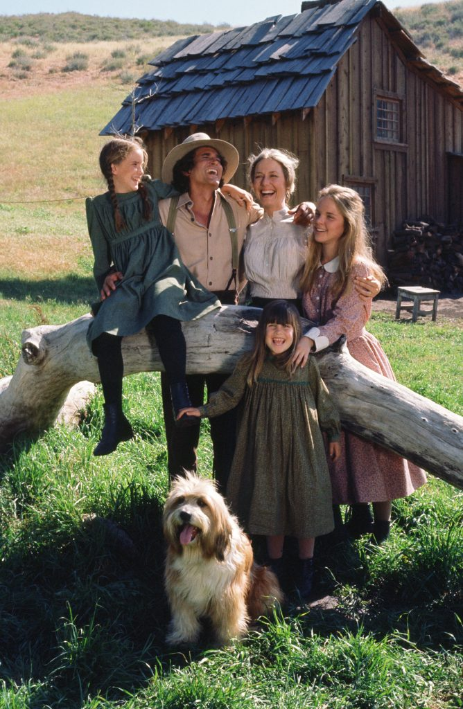 Ingalls family on 'Moor House'