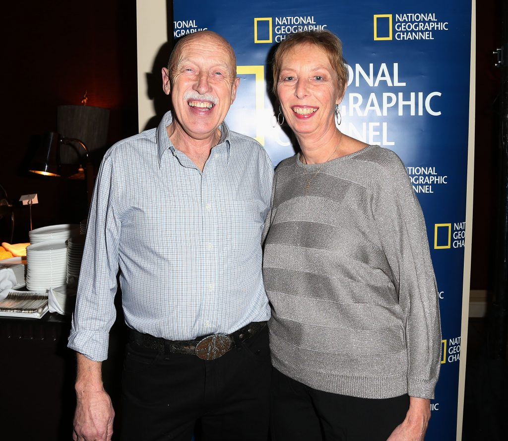 Dr.  Jan Pol and his wife, Diane