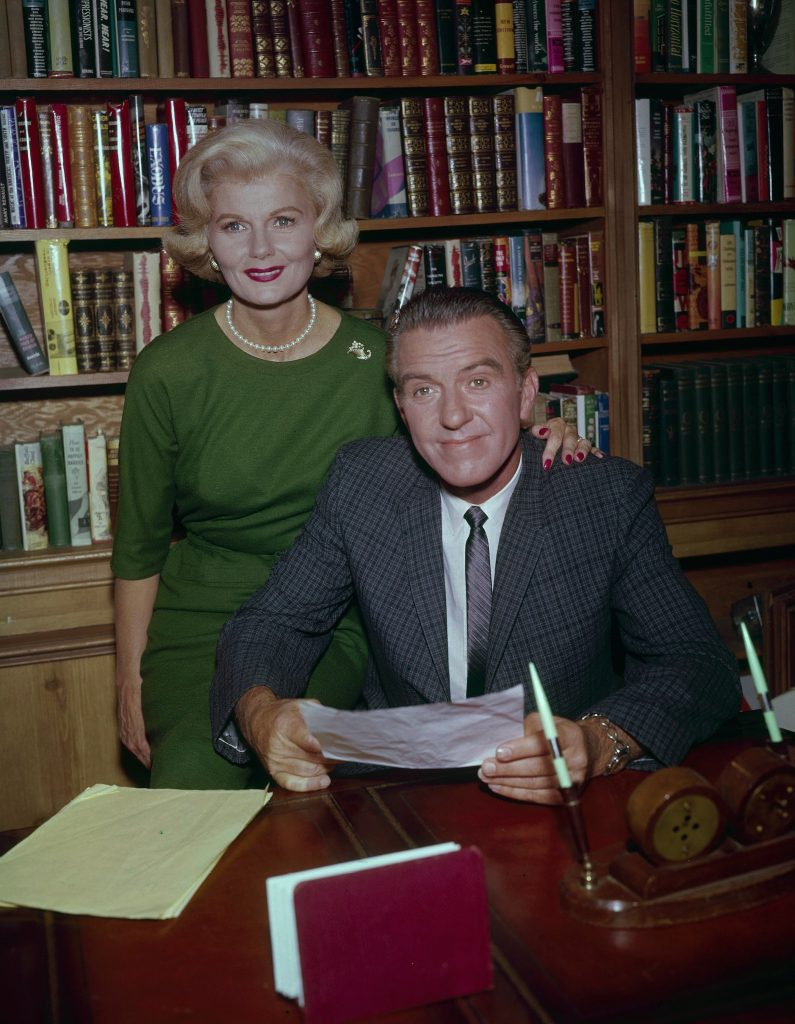 Barbara Billingsley and Hugh Beaumont from 'Leave It to Beaver'