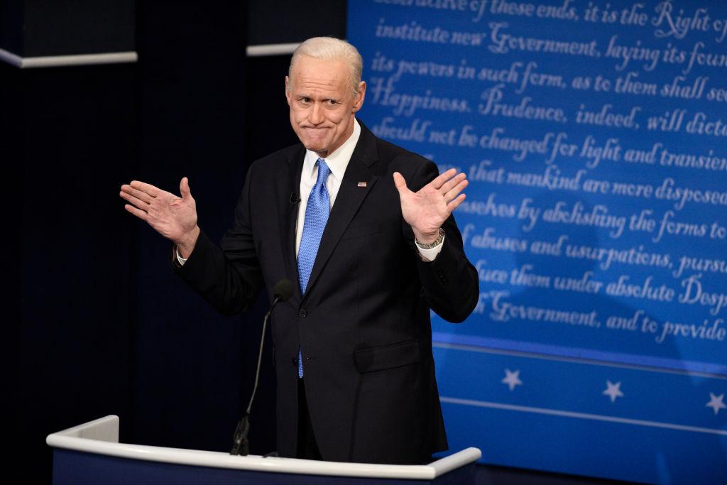 Jim Carrey as Joe Biden on 'SNL'