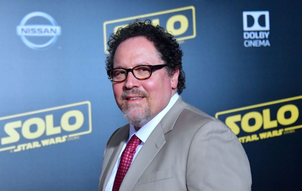 'The Mandalorian' creator John Favreau arrives for the premiere of the movie 'Solo: A Star Wars Story' in Hollywood, California, on May 10, 2018.