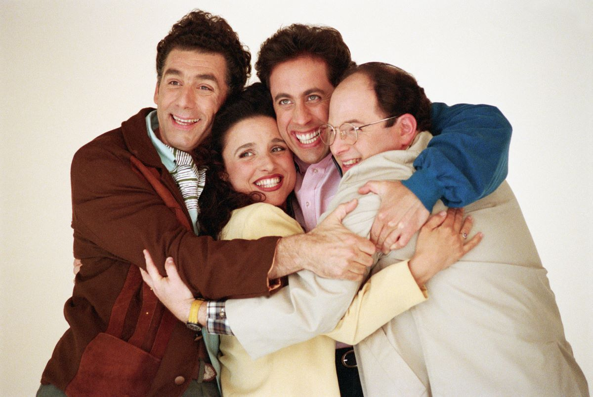 Seinfeld was thrown
