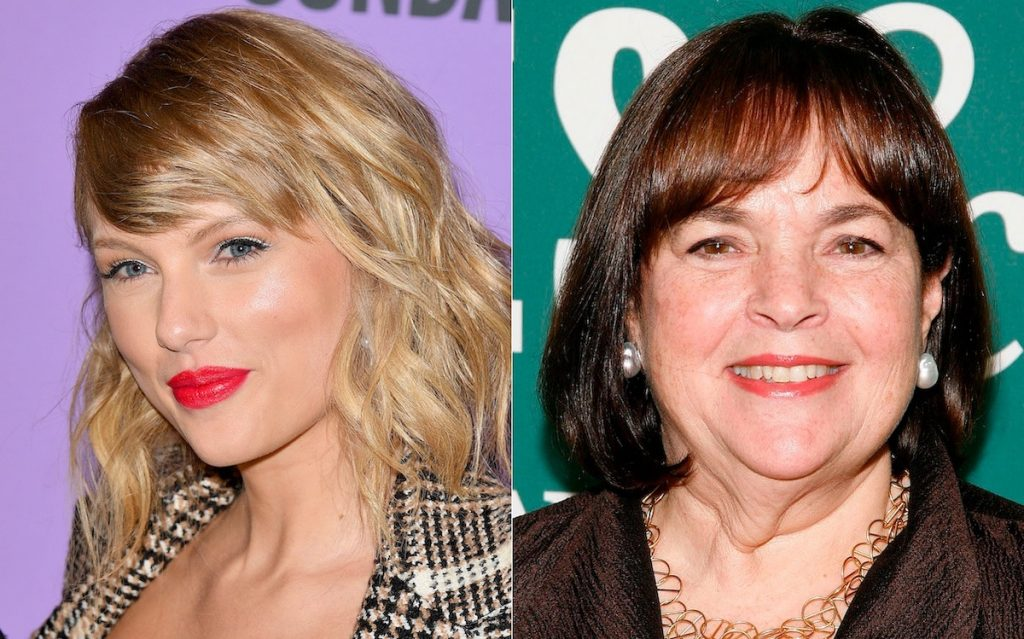 Taylor Swift (L) and Ina Garten (R)  George Pimentel / Getty Images / Andy Kropa / Getty Images