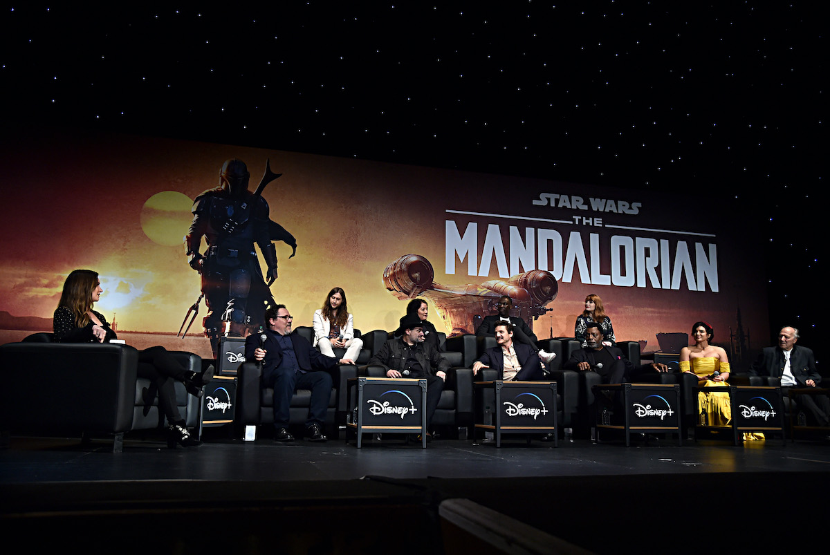 The premiere of 'The Mandalorian' at the El Capitan Theater in Hollywood, Calif.