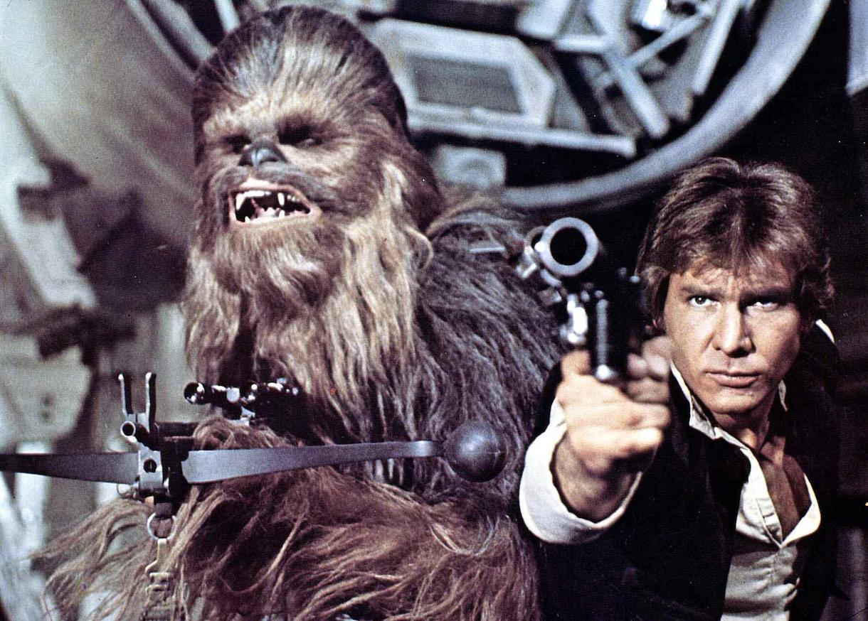 Harrison Ford in 'Star Wars'