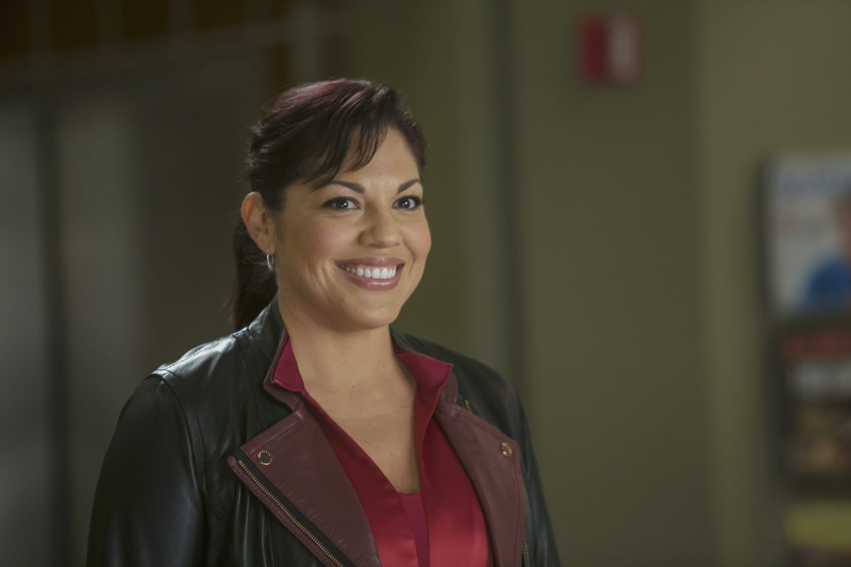 SARA RAMIREZ as Callie on 'Gray's Anatomy'