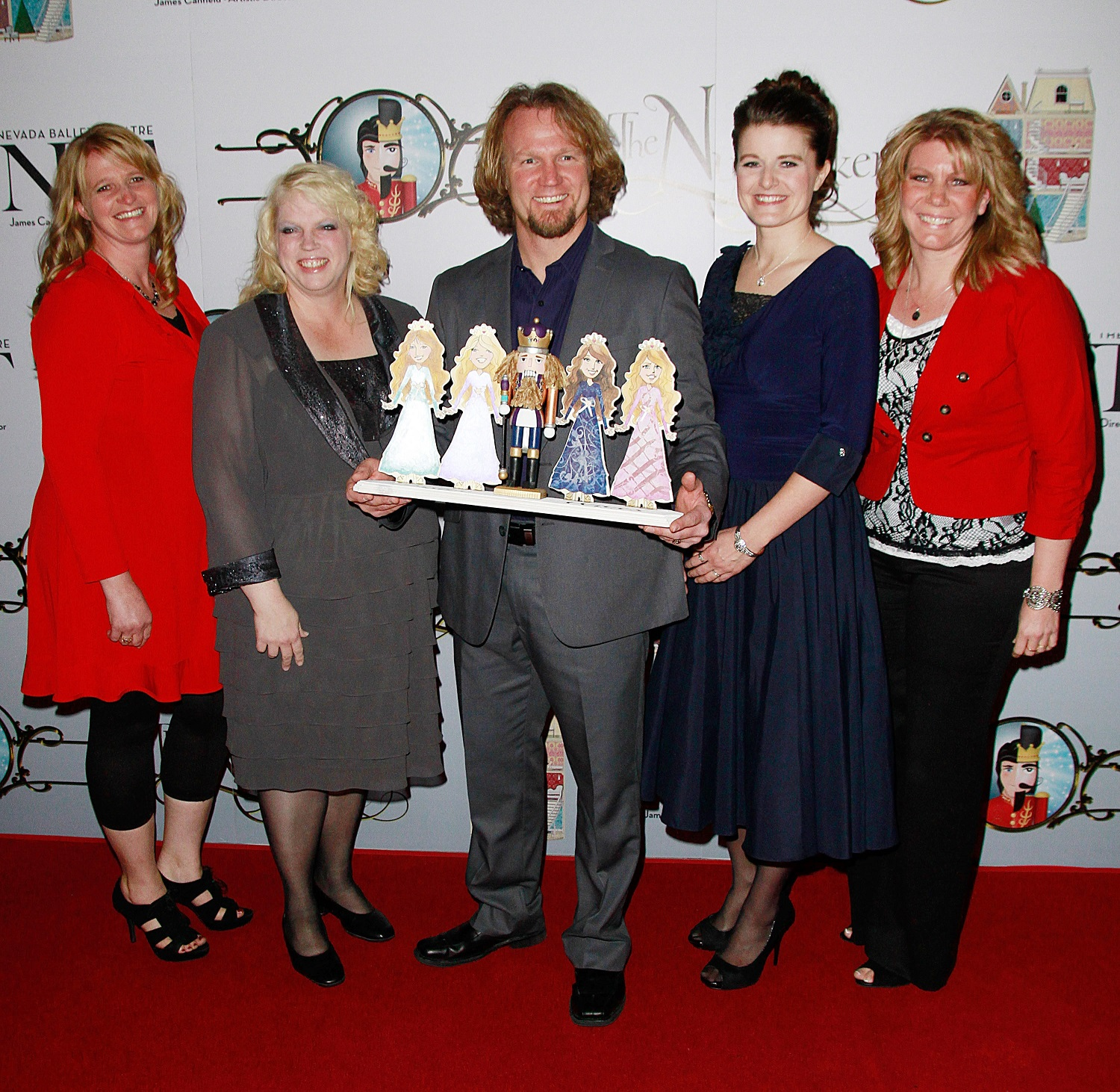 Christine Brown, Janelle Brown, Kody Brown, Robyn Brown and Meri Brown from Sister Wives