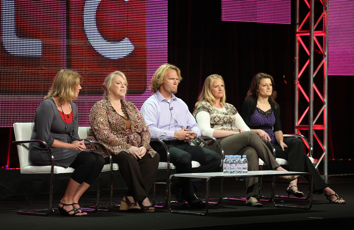 Meri Brwon, Janelle Brown, Kody Brown, Christine Brown and Robyn Brown from Sister Wives