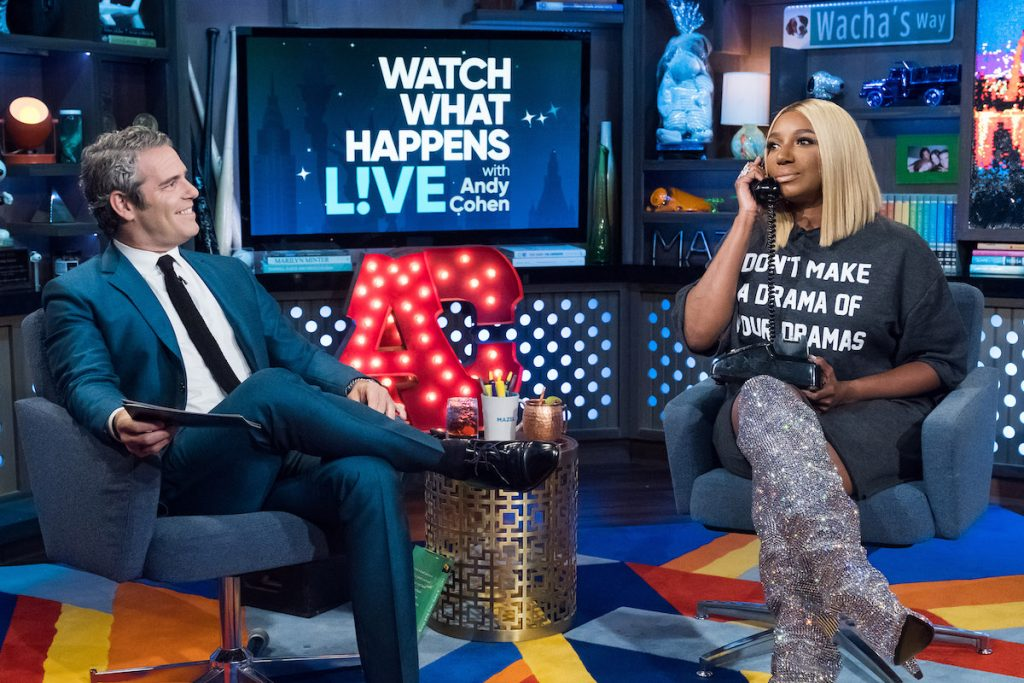 Andy Cohen and Nene Leakes