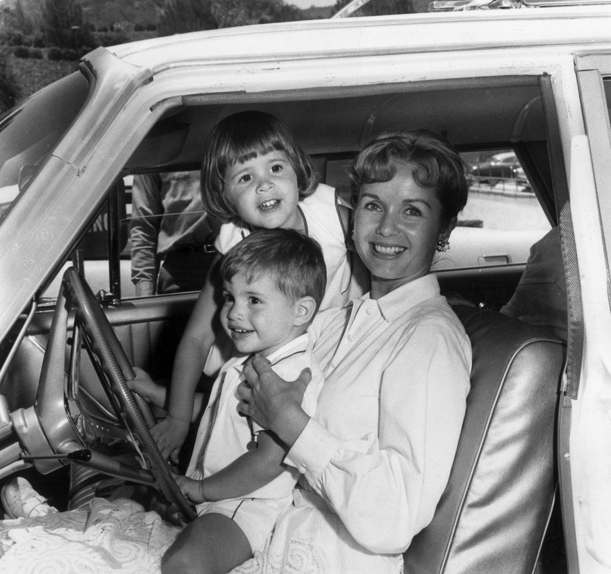 Carrie Fisher, Todd Fisher, and Debbie Reynolds