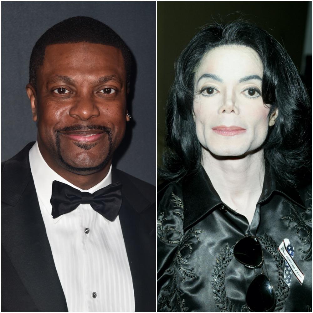 Chris Tucker and Michael Jackson