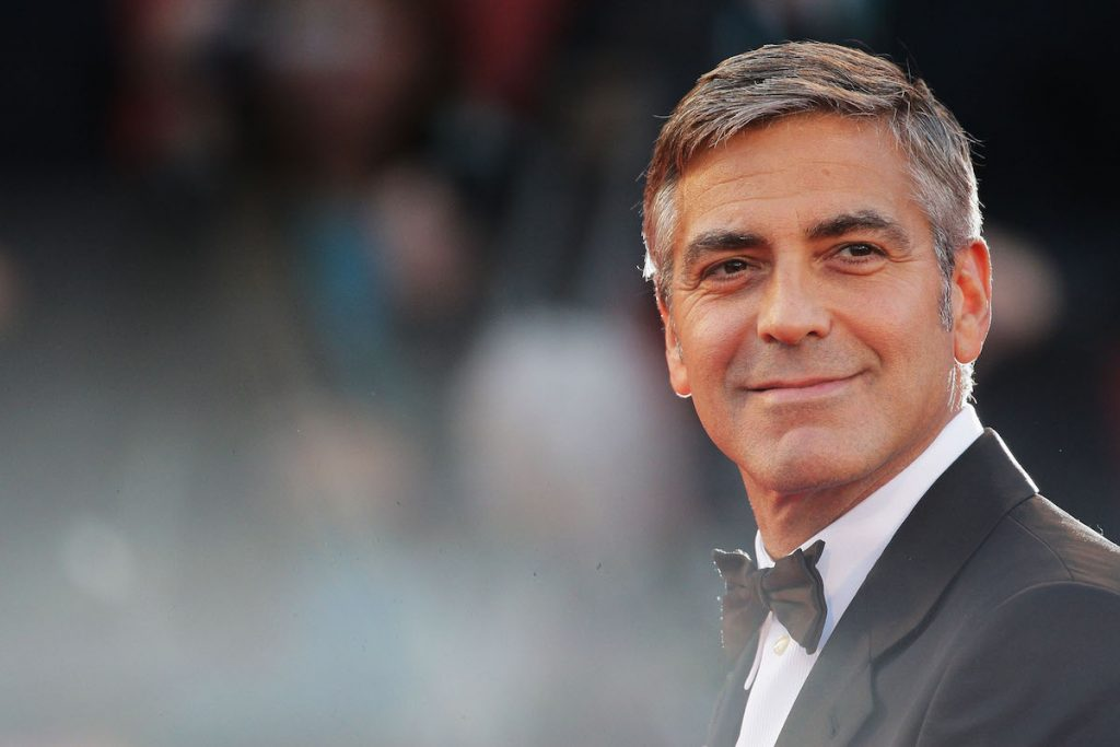 "George Clooney attends ""The Men Who Stare At Goats"" premiere at the Sala Grande during the 66th Venice Film Festival on September 8, 2009 in Venice, Italy."