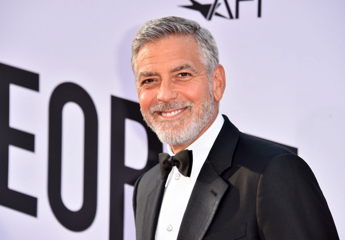 George Clooney arrives at the AFI Lifetime Achievement Award Gala to George Clooney