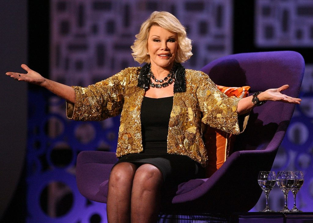 Joan Rivers was related to Bonnie Prince Charlie