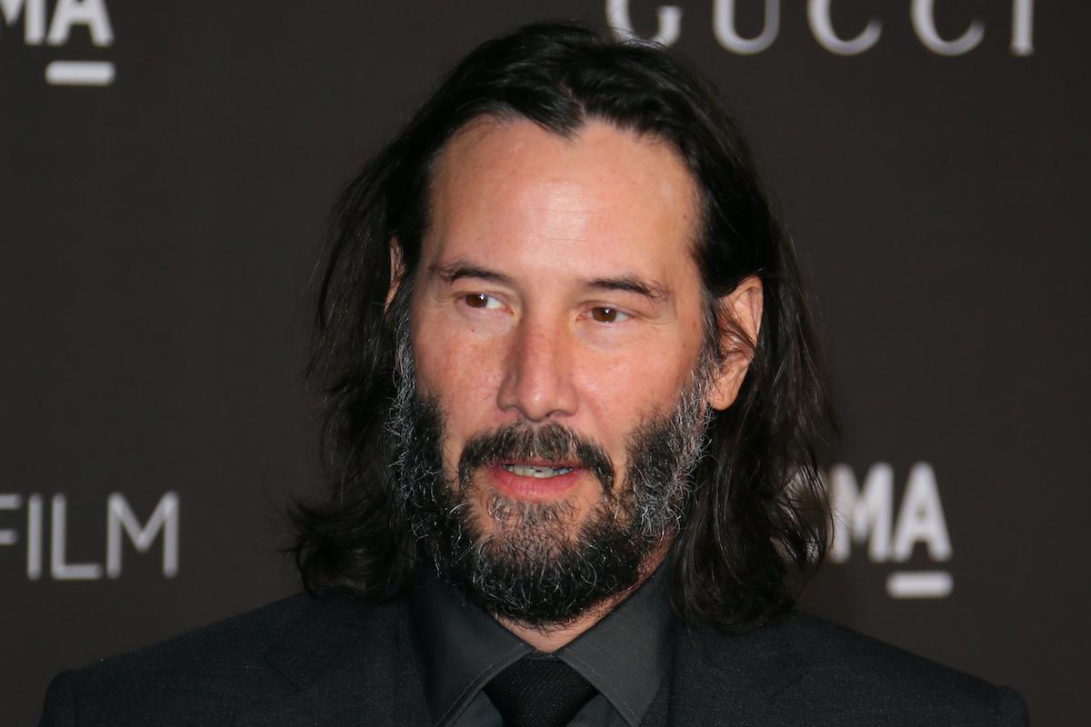 Keanu Reeves at Gala Art + Film 2019 LACMA