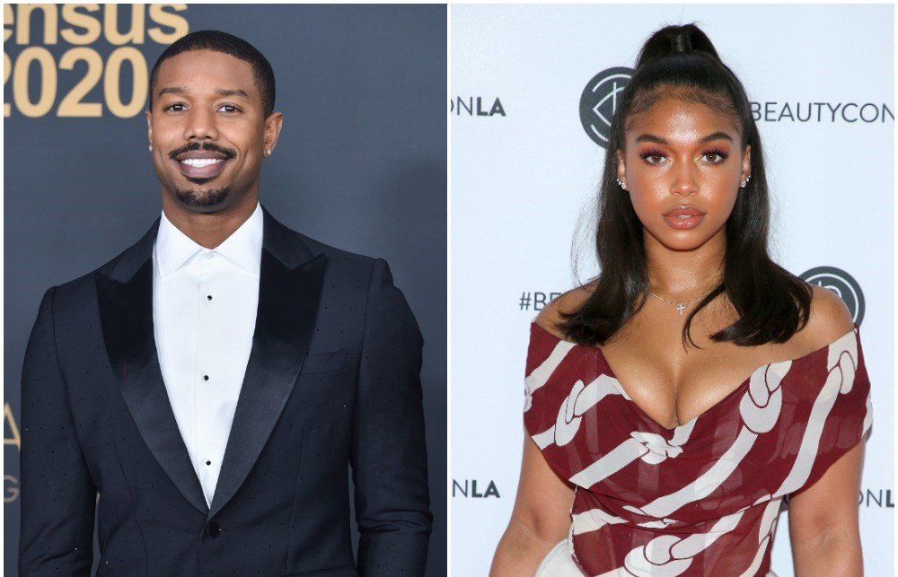 Michael B. Jordan and Lori Harvey