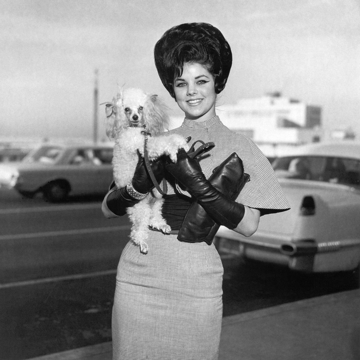 Priscilla Beaulieu Presley in 1963