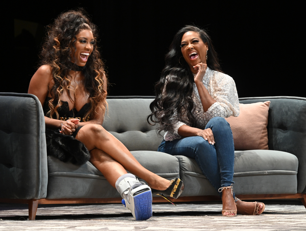 RHOA Porsha Williams Kenya Moore
