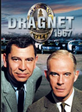 Advertisement image for 'Dragnet'