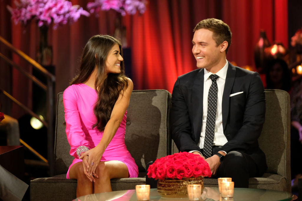"Peter Weber and Madison Prewett on The Bachelor ""Season Finale Part 2"""