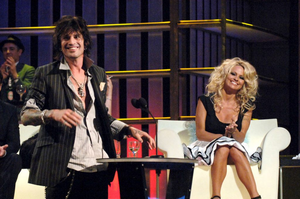 Tommy Lee and Pamela Anderson during the Comedy Central Roast of Pamela Anderson - Exhibit at Sony Studios in Culver City, California, USA |  Jeff Kravitz / FilmMagic