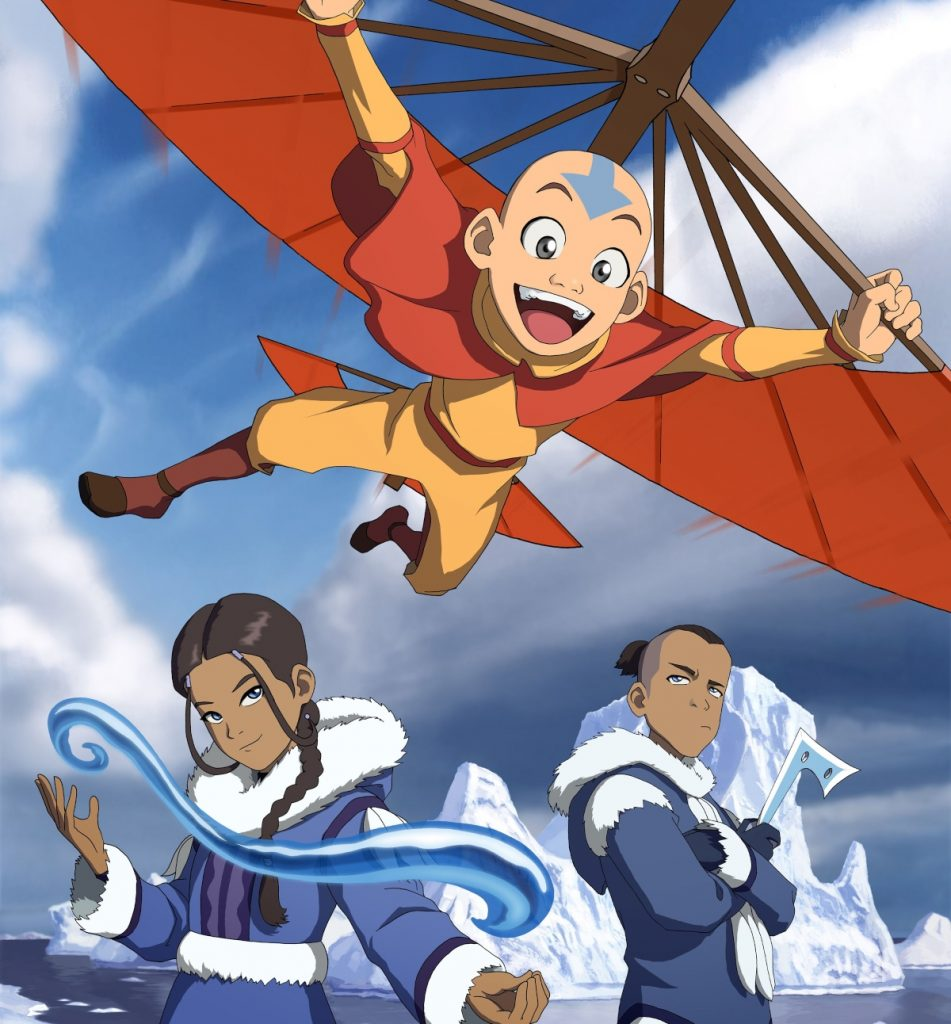 'Avatar: The Last Airbender' by Aang, Katara, Sokka