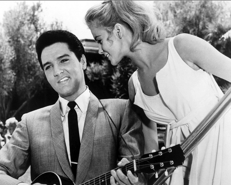 Ann-Margret with Elvis Presley