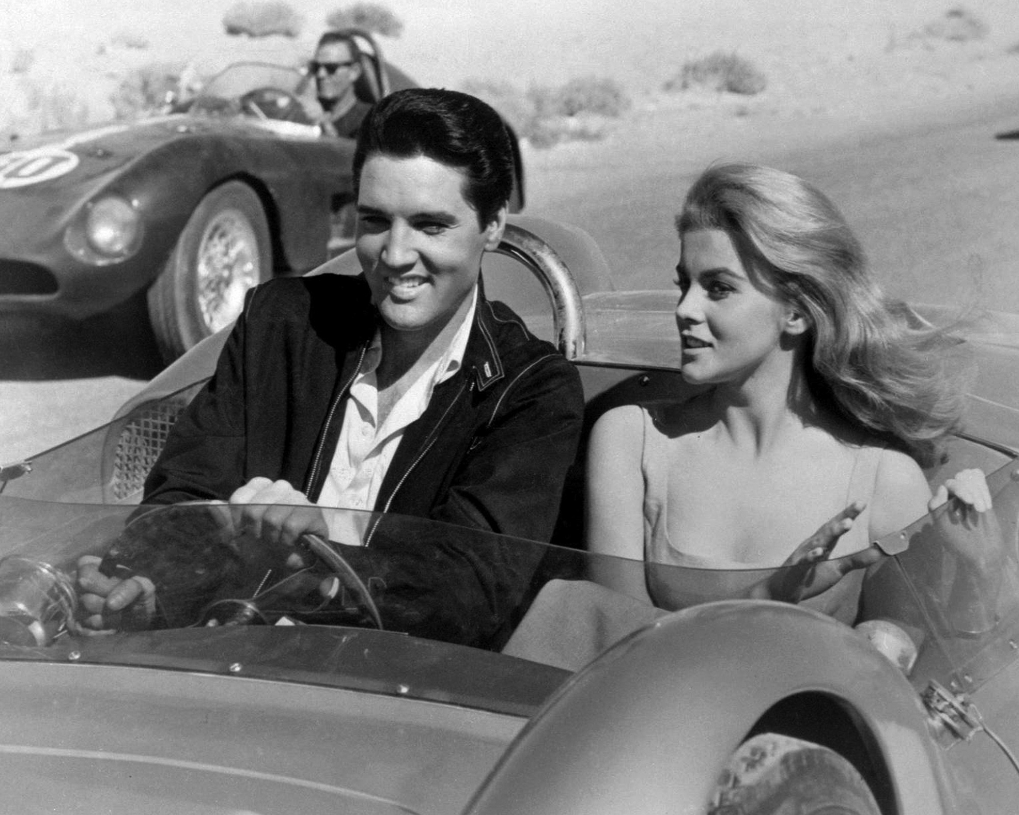 Ann-Margret and Elvis Presley in the movie Viva Las Vegas