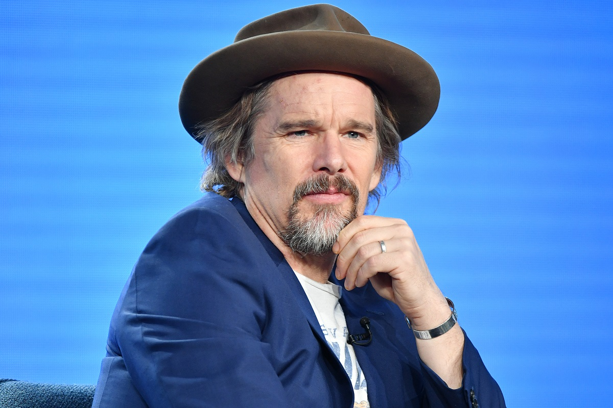Ethan Hawke of 'The Good Lord Bird' will speak during Showtime of the TCA Winter 2020 News Round on January 13, 2020 in Pasadena, California.