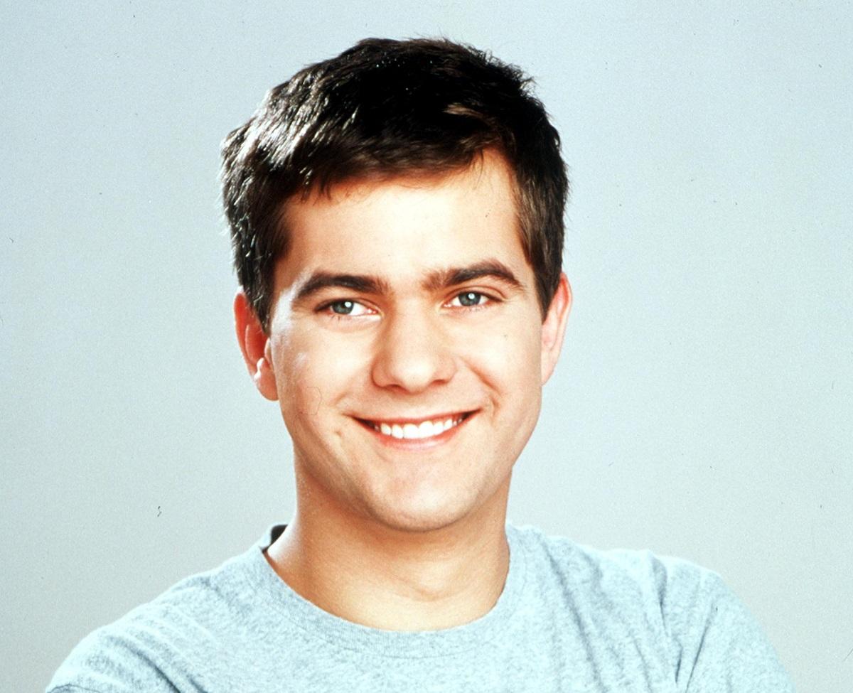 Joshua Jackson appears as Pacey in Warner Bros., Dawson's Creek TV drama.  '