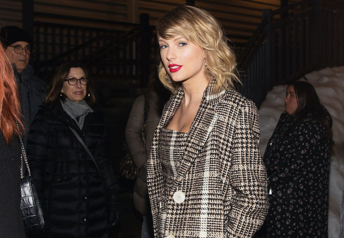 Taylor Swift at the Sundance Film Festival on January 23, 2020