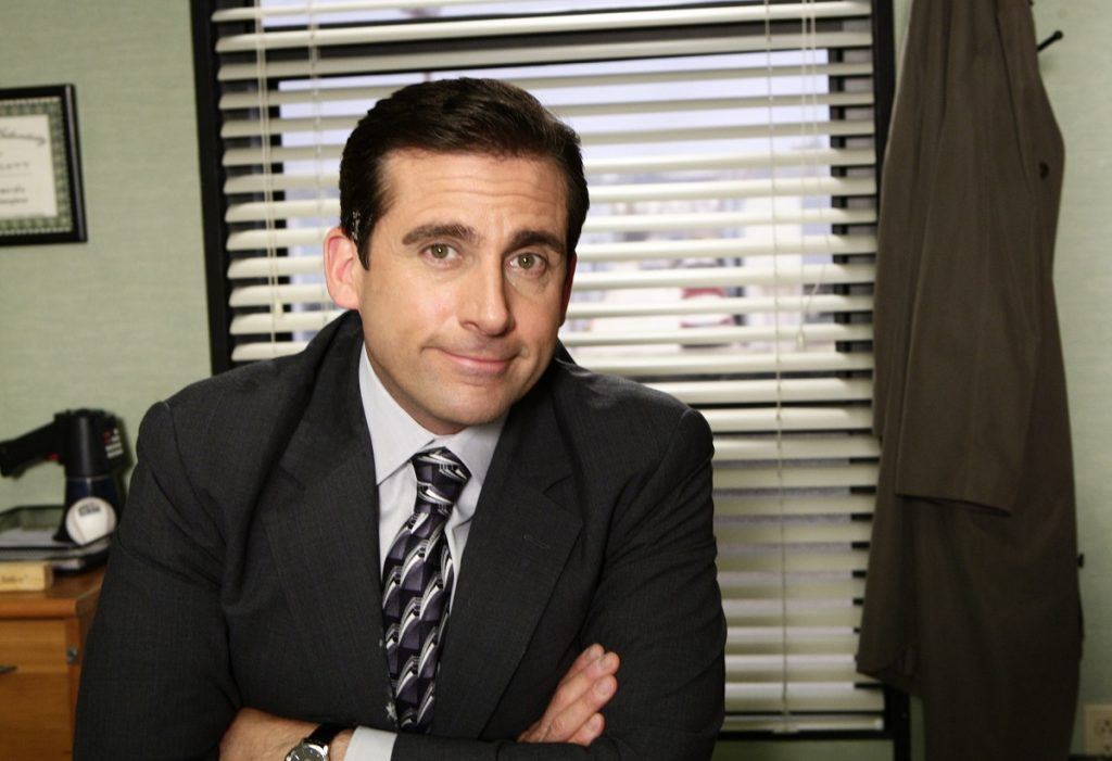 Steve Carell as Michael Scott in 'The Office'