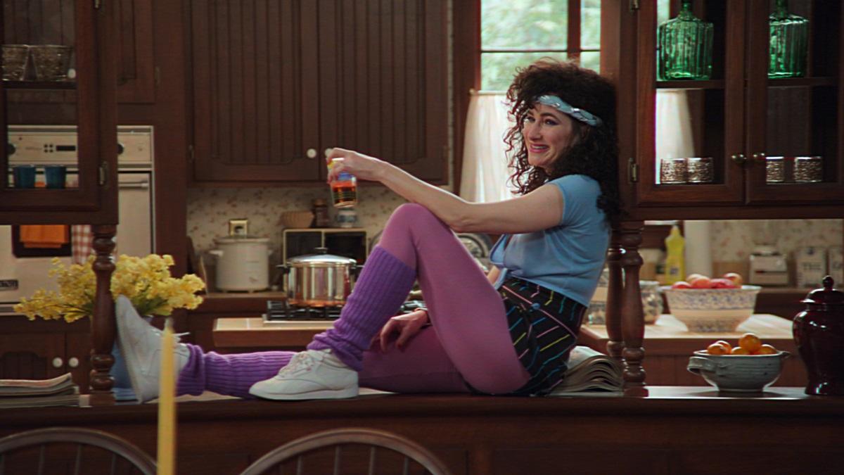 Kathryn Hahn as Agnes in Marvel Studios '' WandaVision ''
