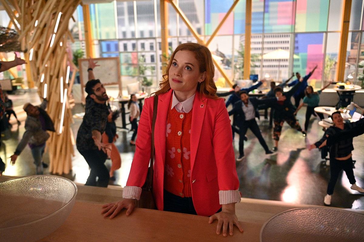 Jane Levy as Zoey Clarke in season 2 of 'Zoey's Extraordinary Playlist'
