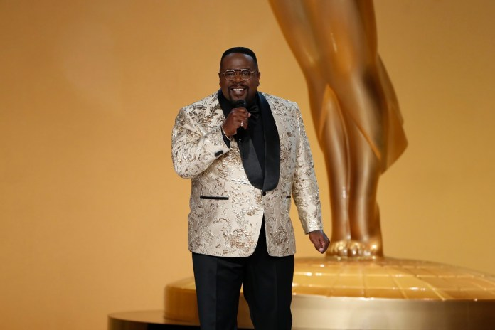 Cedric the Entertainer Hosts the 73rd Emmy Awards