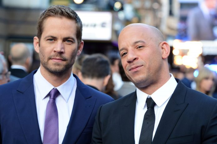 Paul Walker and Vin Diesel at the 'Fast & Furious 6' premiere