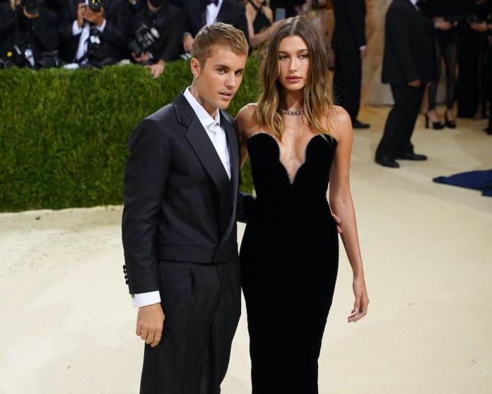 Selena Gomez's ex-boyfriend Justin Bieber and his wife Hailey Bieber
