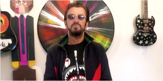 Ringo Starr shared a message on