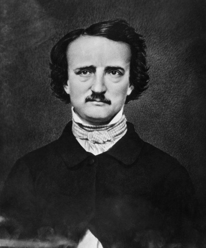 The Fall of the House of Usher author Edgar Allan Poe Portrait